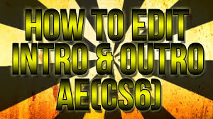 how to download and edit templates using after effects cs6 cc
