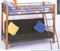 Wood And Metal Bunk Beds Wood And Metal Bunk Bed