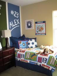 Kids Room Boys Bedroom Decorating Ideas Sport Baseball Theme - Kids sports room decor