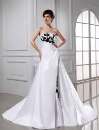 wedding dresses with black dress ty