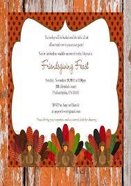 thanksgiving dinner invitation wording sles picture ideas