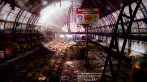 Radio Station High Resolution Wallpaper A Post Apocalyptic Look Of The Netherlands In 2114