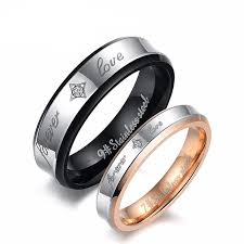 rings love couple images Personalized forever love stars couple rings luxxjewel jpg