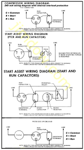 wiring diagrams ac run capacitor window ac unit diagram ac