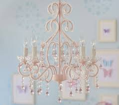Candle Chandelier Pottery Barn Pink Lydia Chandelier Pottery Barn Kids