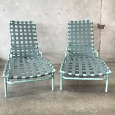 Tropitone Patio Furniture Sale Pair Of Tropitone Patio Chaise Lounge Chairs Since 1954