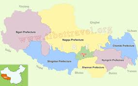 Himilayas Map Where Is Tibet Where Is The Plateau Of Tibet Located On A Map