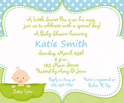 fulgurant your invitation templateswith baby shower design baby
