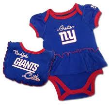 Ny Giants Crib Bedding Ny Giants Baby Blankets New Giants Bodysuit And Bib Set 3 6