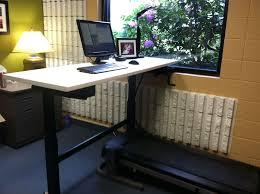 Desk Treadmill Diy Standing And Treadmill Desk Diy