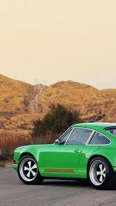 singer porsche iphone wallpaper simplywallpapers com porsche 911 singer 911 cars green singers