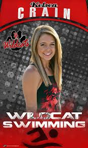 high school senior banners custom swimming banner baker county high school
