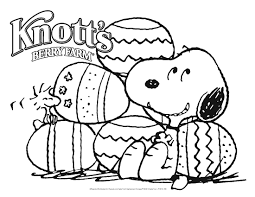 snoopy easter coloring pages getcoloringpages com