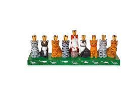 ceramic menorah 8 hanukkah gifts for your pets pawculture