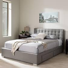 Leather Upholstered Bed Storage Beds Yardley Black Faux Leather Upholstered Bed Frame With