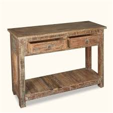 Barn Wood Sofa Table by Coffee U0026 Accent Tables Unique Distressed Wood Sofa Table Burl