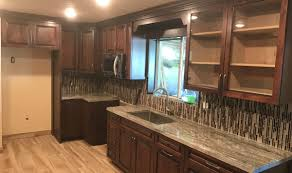 painted kitchen cabinets with stained doors diy staining your own unfinished cabinet doors