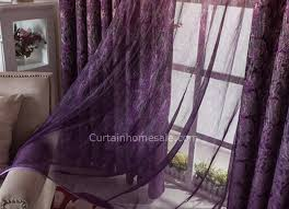 Buy Discount Curtains Dark Purple Buy Discount Curtains Of Lavender Printing Patterns