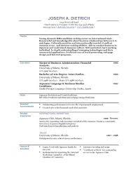 Good Resume Objectives 9 Sles 18 Writing Objective On - write a great resume how to write a resume for a job exle