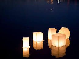 how to make a floating lotus paper lantern american family