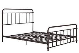 Iron Headboard And Footboard by Amazon Com Wallace Metal Bed Frame In Dark Bronze With Vintage