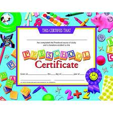 preschool certificates 36 best preschool certificates images on award