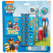 paw patrol super stationery set kids back to arts u0026 crafts