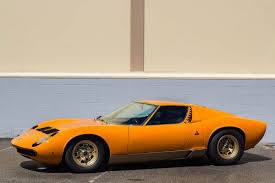 lamborghini miura race car adam carolla s insanely vintage lamborghini collection is for