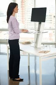 Standing Or Sitting Desk by Humanscale U0027s Quickstand Workstation The Sit Stand Solution For
