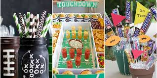 12 Diy Football Decorations For A Super Bowl Party Decorating