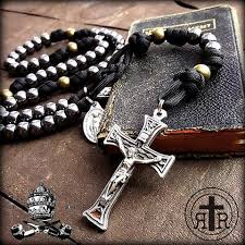 mens rosary historical wwi combat rosaries soldier s rosaries strong