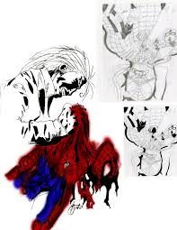 spiderman sketches by civilknight on deviantart