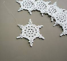 6 crochet decorations large snowflake by caitlinsainio