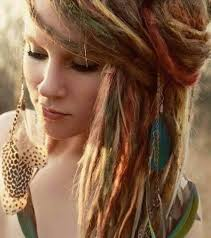 hippie hairstyles for long hair picking boho hairstyles with simple braids for fine medium length