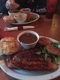 cuisine alligator blackened alligator sausage with gumbo picture of dukes