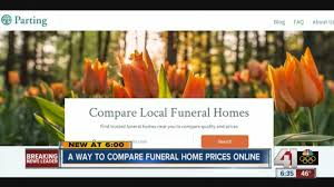 funeral homes prices new way to compare funeral home prices online