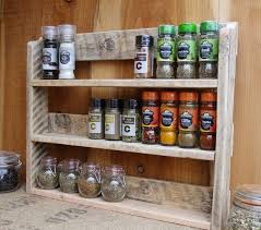 Wooden Spice Cabinet With Doors Large Rustic Spice Shelf Kitchen Spice Rack Herb Cabinet Made