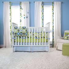 Nursery Curtain Fabric by Baby Nursery Luxury Dotted Colorful Boy Baby Crib Setsideas With