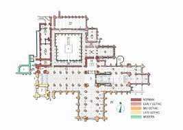 gothic cathedral floor plan cathedral floor plan beautiful file chester cathedral plan3