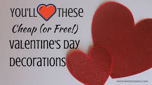 cheap valentines day decorations ll heart these free or cheap valentines day decor ideas