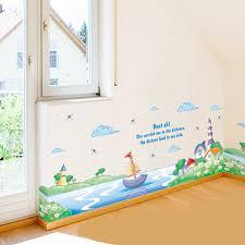 Online Get Cheap Flower Wall Border Aliexpresscom Alibaba Group - Kids room wallpaper borders
