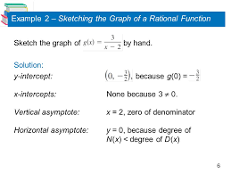 graphs of rational functions ppt download