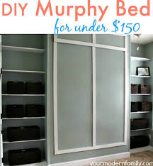 Custom Bookshelves Cost by 8 Versatile Murphy Beds That Turn Any Room Into A Spare Bedroom
