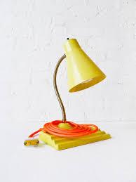 Neon Desk Lamp 30 Sale Retro Yellow Desk Lamp With Light Neon Orange Textile