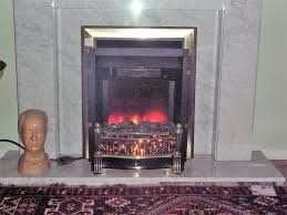 burley 140 electric fire free standing real coal effect little