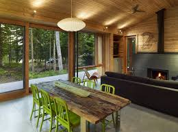 Contemporary Cabin Ultra Modern Cabin Blends Rustic Warmth With Modern Minimalism