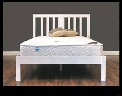 White Wood Bed Frame Bed Frames Northern Ireland At Tj Warehouse Based Near Belfast