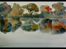 watercolor tips 10 how to paint reflections on water youtube