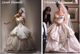 vivienne westwood wedding dresses 2010 carrie bradshaw s wedding dress jones for fashion