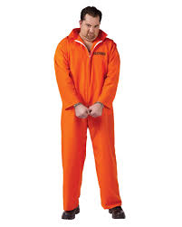 halloween inmate costume us prisoner costume xl convict costume prisoner costume